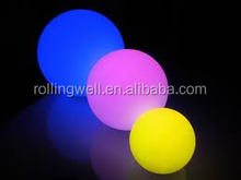 outdoor waterproof christmas decoration multicolr ball led lighting