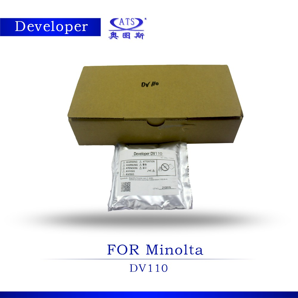Genuine <strong>developer</strong> DV110 compatible for Minolta Bizhub 152 183 162 China factory