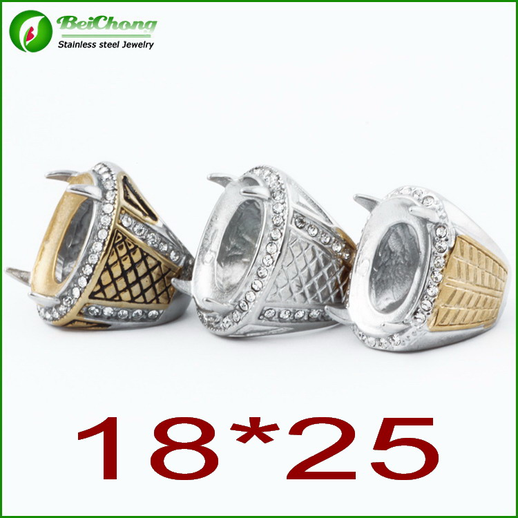 Fashion Classic Ring Mountings Without Stones Mens Ring Blanks Buy Mens Rin