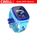 New Arrival 1.22'' Screen IP67 Waterproof GPS/LBS Dual Positioning Kids GPS Watch TWATCH DF25G