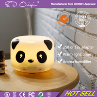 Classic Ultrasonic Air Electric Room Fragrance Aromatherapy Essential oil Cool Mist LED Light Diffuser Humidifier Lamp