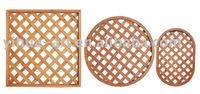 \round small type wooden fence