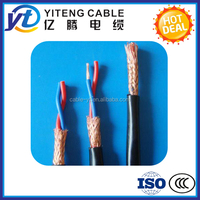PVC insulated And Sheathed Screen Flexible RVVP Flexible Electrical Cable