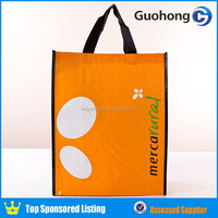 Guohong reusable cmyk printing eco tote bag, eco bag
