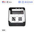 Top quality aluminum case support mini itx mainboard with best cooling system