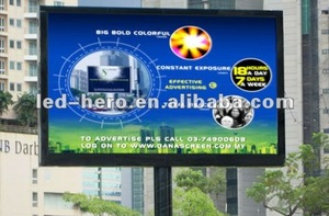 P6 SMD shopping mall advertising led display screen sign