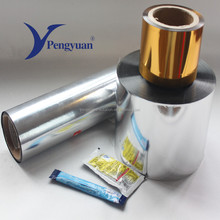 Vapor barrier film pet al pe laminated foil packaging film