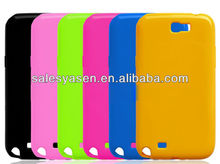 Soft clear material TPU case for SAMSUNG galaxy note 2 TPU cover N7100