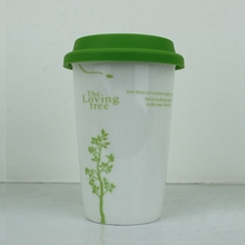 Mugs Drinkware Type and Eco-Friendly Feature travel tea mug,ceramic mug with silicone lid