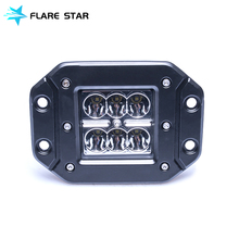 Automobile Car Accessory 18W LED Work Light, IP67 Spot Beam Driving Lights, Hot Sale Off Road Fog Lamp For SUV/Jeep/Truck
