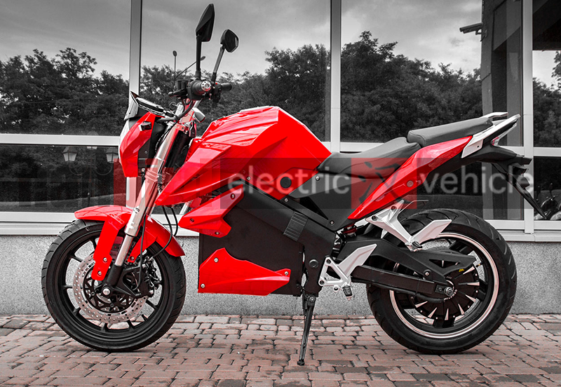 Super Speed Adult Racing electrical Motorcycle With 130kph speed For Street King