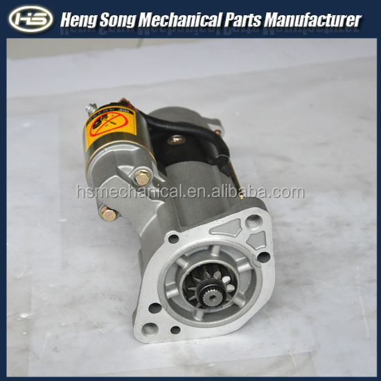 4M40-12v engine spare parts starter motor of excavators MDM440