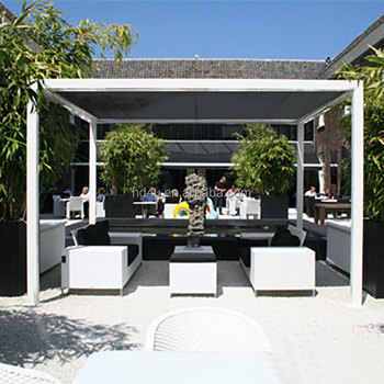 Outdoor blinds Pavilion Sun shade Providing 90% shading UV resistant