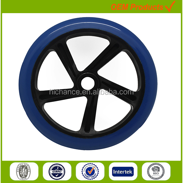 200mm kick foot scooter wheel for teenagers