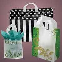 Fantasy Online Eco-friendly Biodegradable OEM Plastic Shopping Carrier Bag Wholesale