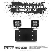License Plate Mounting Bracket Light 2018 LED Work Light Bar Headlight Motorcycle Aluminum Holder Mounting Bracket