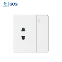 GOG power point white south africa 3 pin plug multi plug socket
