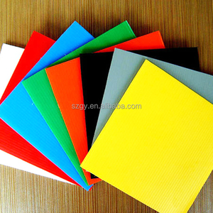 Custom Colors PP Coroplast Sheet, PP Hollow Sheet for Sale