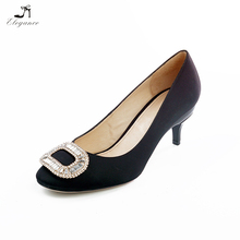 Newest Women High Heels Innovative Height Adjustment Function Multiheight Shoes 5/6/7cm Removable Heels Pumps