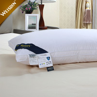 China factory suppliers wholesale hotel white duck feather down hotel bed pillow inserts
