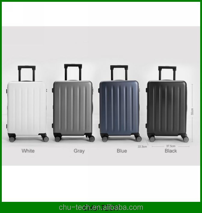 Original Xiaomi 90 cent Points Suitcase 20 inch Spinner Wheel Luggage Travel Suitcase 4 Colors Hardside Luggage Travel Bag