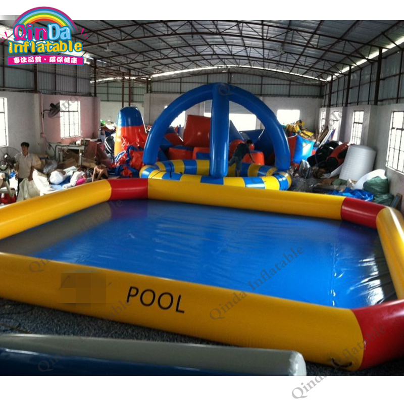 above ground inflatable swimming pool48