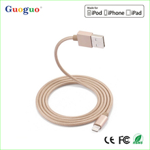 Authorized MFI Manufacturer 3ft length nylon braided cable, MFi Certifie Original Braided Charger Cable for Apple