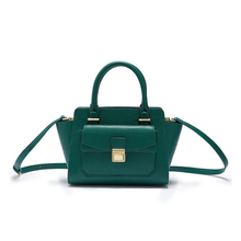 1HD0450 High Quality Ladies Bags Hot Sale Trend Forest Green Small Shoulder Handbag