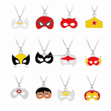 New Halloween Jewelry Halloween Mask Pendant Necklace Halloween Necklace
