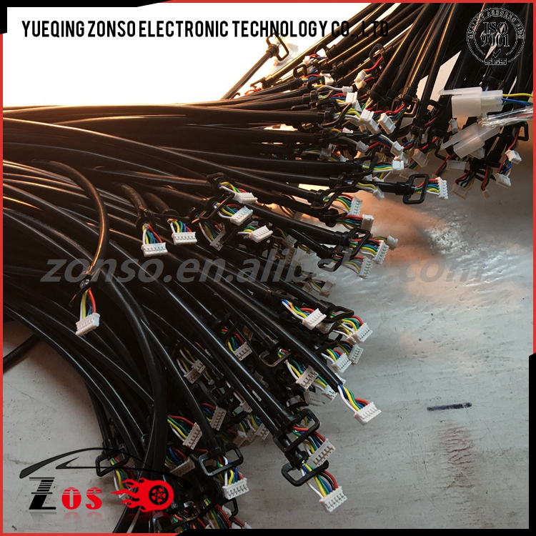 Professional China motorcycle connectors' wire harness