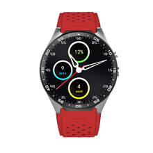 Full Round OLED Touch Screen 2017 Led smart watch for Phone with 2mp Camera SIM card