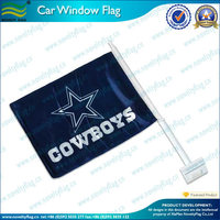 polyester lower price Dallas Cowboys car flag