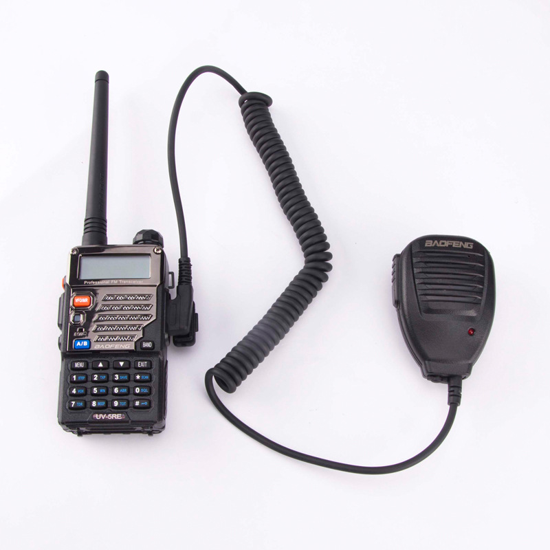 Microphone mic BaoFeng UV-5R BF-888S 2 Pin PTT Speaker Mic Walkie talkie For TYT HYT Radio