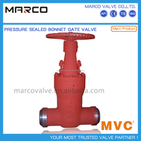 Hot sale high quality rising stem wedge type valve bb/psb os&y manual chain or handle wheel gate valve