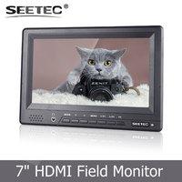 7 Inch 16:9 LCD HD 1920*1080 Pixels 1080P Portable Camera-Top Field Monitor W/ HDMI Input ST678-AHY