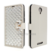 Wallet Style Full Cover Bling Diamond Bow Flip Cover Phone Case For Blu Studio XL2 S0270UU Leather Case
