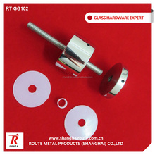 China stainless steel standoff hardware for glass
