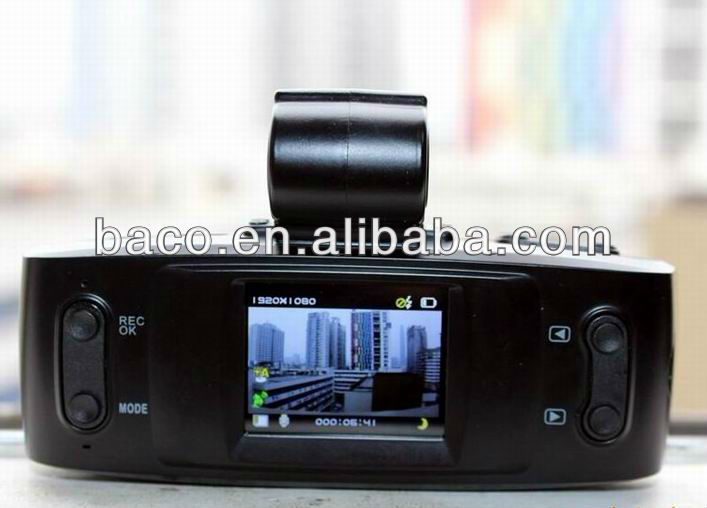 Car dvr camera video recorder with gps and 1080P h 264 GS1000