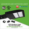 Super Slim parking lot 150w led shoebox light DLC UL cUL listed with 130LM/W