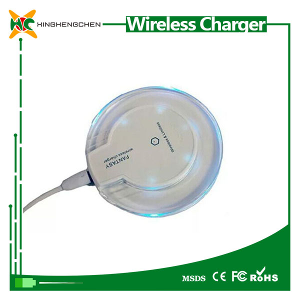 Mobile phone qi wireless charger charging pad fantasy wireless charger carregador sem fio universal wireless charger