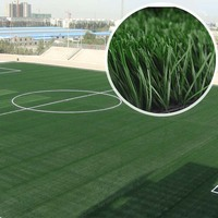 Natural Soccer Synthetic Artificial Lawn