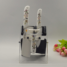 wholesale clear desktop acrylic knife display stand