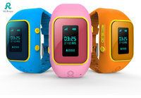 new arrival style gps tracking system android smart watch phone kids gps watch factory price R12