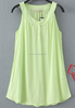 Newest arrival high quality fashion 2015 sleeveless summer dresses wholesale sundresses vest dresses