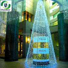 High Quality Waterproof Water Flow LED Christmas Tree Light Waterfall Curtain Light