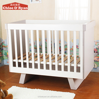 Type Modern ASTM Safety Baby Sleigh Single Wooden Crib Cot Cradle Bed