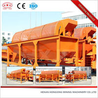 Gold ore powder rotary vibrating screen separator