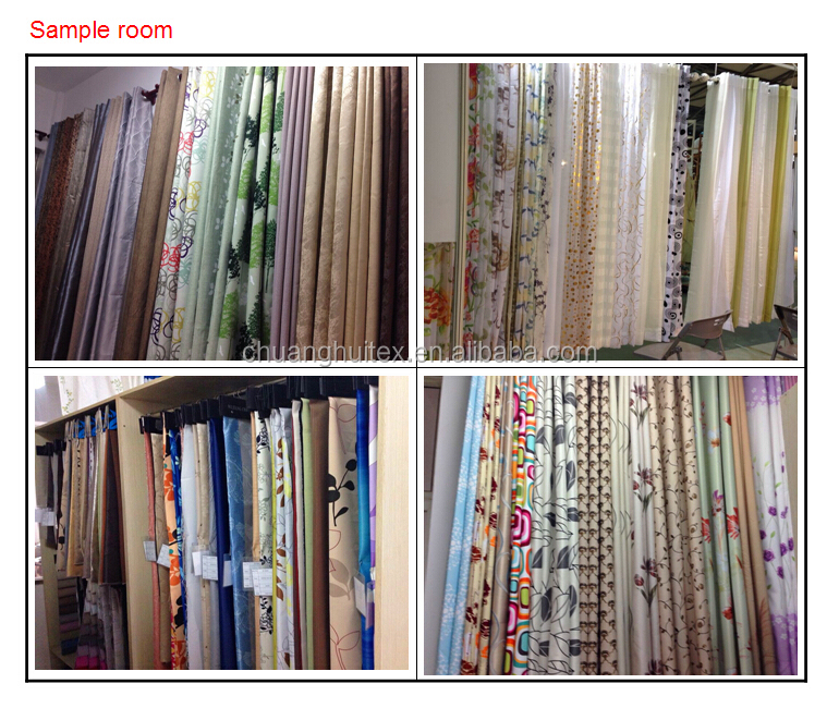 New Arrival 100% Polyester Hotel Blackout Curtain