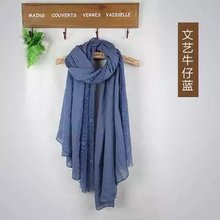 vintage malaysian wholesale suppliers material stole shawl fashion style cotton women lace scarf