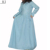 2018 laser 3D cut flower loose-fitting shape muslim children kaftans islmaic clothes for Eid holidays girl